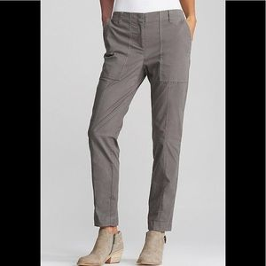 Eileen Fisher Gray cropped cargo pants